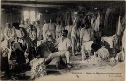 Annonay (Ardèche) : Atelier du Mégissiers-Palissoneurs