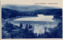 Environs d'Annonay (Ardèche) : Barrage du Ternay