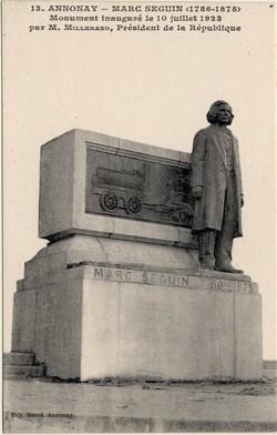 Annonay (Ardèche) : Marc Seguin (1786-1875)