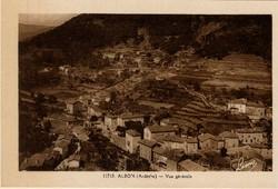 Albon (Ardèche) - Vue générale