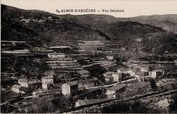 Albon d'Ardèche - Vue Générale