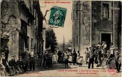 Pont-d'Aubenas (Ardèche) : Quartier de Tartary - Usine Tourette et Ateliers C. Durand