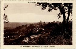 Aubenas - Vue générale et Vallée de l'Ardèche