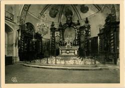 Aubenas (Ardèche) : Eglise St-Laurent - Ensemble du Chœur