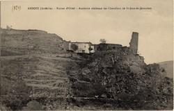 Ardoix (Ardèche) : Ruines d'Oriol