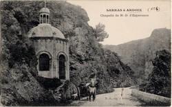 Sarras à Ardoix (Ardèche) : Chapelle de N.-D. d'Espérance