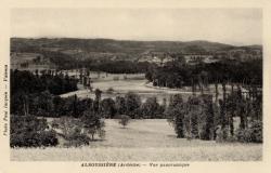 Alboussière (Ardèche) - Vue panoramique