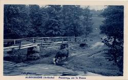 Alboussière (Ardèche) Passerelle sur le Duzon