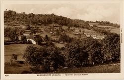Alboussière (Ardèche) - Quartier Chiroux-Aubert