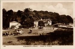Alboussière (Ardèche) - Château de Larzalier