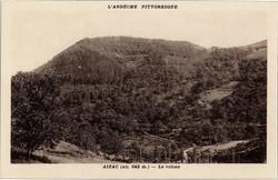 Aizac (alt. 642 m. Ardèche) : Le volcan