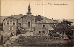Cl. de M. l'abbé C. - Village d'Asperjoc (Ardèche)