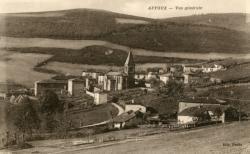 Affoux (Rhône) : Vue générale