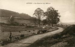 Affoux (Rhône) : Les Eparres (alt. 800 m.)