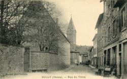 Bully (Rhône) : Rue du Trêve