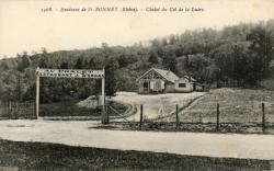 Chevinay (Rhône) : Chalet du Col de la Luère