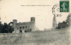 Chevinay (Rhône) : Le château (altitude 787 m.)