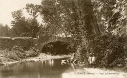 Cercié (Rhône) : Pont sur l'Ardières
