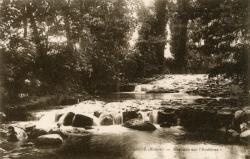 Cercié (Rhône) : Cascade sur l'Ardières