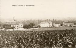 Cercié (Rhône) : Vue générale