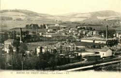Bourg-de-Thizy (Rhône) : Les usines