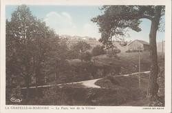 La Chapelle-de-Mardore (Rhône) : La Faye, vue de la Villette