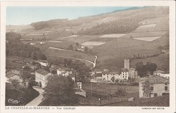 La Chapelle-de-Mardore (Rhône) : Vue générale