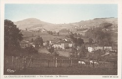 La Chapelle-de-Mardore (Rhône) : Vue générale, Le Martorey