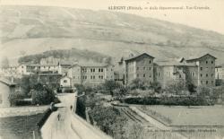 Albigny-sur-Saône (Rhône) : Asile départemental. Vue générale.