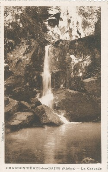 Charbonnières-les-Bains (Rhône) : La cascade