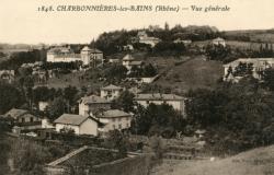 Charbonnières-les-Bains (Rhône) : Vue générale