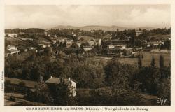 Charbonnières-les-Bains (Rhône) : Vue générale du bourg