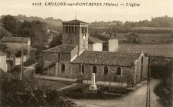 Cailloux-sur-Fontaines (Rhône) : L'église