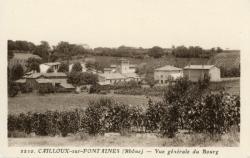 Cailloux-sur-Fontaines (Rhône) : Vue générale du bourg