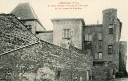 Charnay (Rhône) : Le vieux château