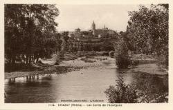 Chazay-d'Azergues (Rhône) : Les bords de l'Azergues