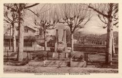 Chazay-d'Azergues (Rhône) : Monument aux morts