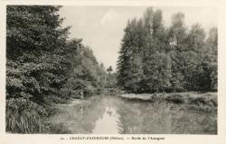 Chazay-d'Azergues (Rhône) : Bords de l'Azergues