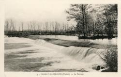 Chazay-d'Azergues (Rhône) : Le barrage