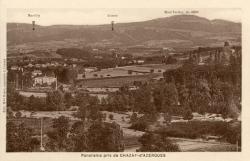 Chazay-d'Azergues (Rhône) : Panorama pris de Chazay-d'Azergues (Rhône)