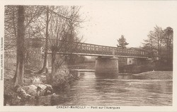 Chazay-Marcilly (Rhône) : Pont sur l'Azergues
