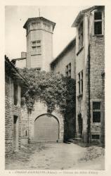 Chazay-d'Azergues (Rhône) : Château des Abbés d'Ainay