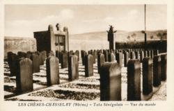 Les Chères (Rhône) : Tata Sénégalais - Vue du Musée