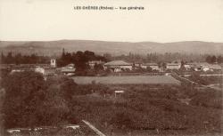 Les Chères (Rhône) : Vue générale