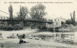 Les Chères (Rhône) : Le pont de Morançé.