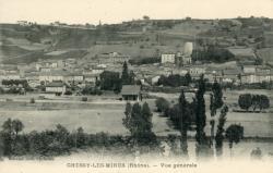 Chessy (Rhône) : Vue générale