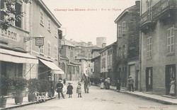 Chessy (Rhône) : Rue de l'Eglise