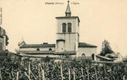 Charly (Rhône) : L'église