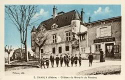 Charly (Rhône) : Château du Marquis de Foudras