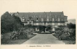 Ampuis (Rhône) : Le château
